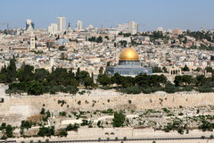 Jerusalem Skyline Royalty Free Stock Images