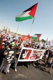 Jerusalem Solidarity March Stock Photos