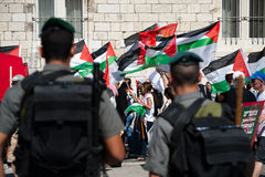 Jerusalem Solidarity March Royalty Free Stock Images