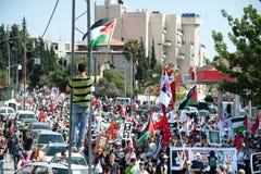 Jerusalem Solidarity March Stock Image