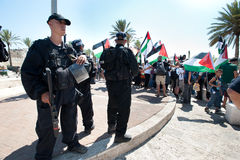 Jerusalem Solidarity March Stock Images