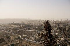 Jerusalem stad Royaltyfria Bilder