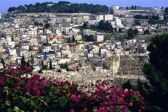 jerusalem Stadtwege lizenzfreies stockbild