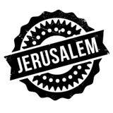 Jerusalem stamp rubber grunge Stock Image