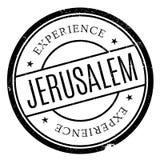 Jerusalem stamp rubber grunge Stock Photo