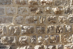 Jerusalem stone wall royalty free stock photo