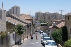 Jerusalem street Stock Images