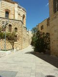 Jerusalem street. A street in Jerusalem old city Royalty Free Stock Image