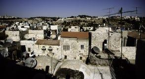 Jerusalem street travel on holy land Stock Photo