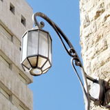 Jerusalem Streetlight 2012 Stock Image
