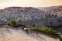 Jerusalem At Sunset Royalty Free Stock Photos