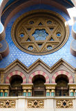 Jerusalem synagoga, Prague Arkivbild
