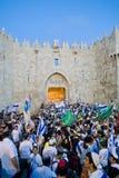 Jerusalem-Tag stockfotos