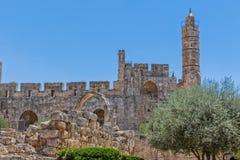 Jerusalem Tower of David Royalty Free Stock Images