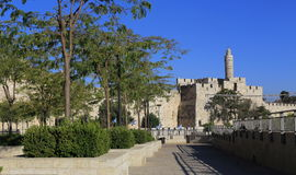 Jerusalem. Tower of David, Jerusalem, Israel Stock Photos