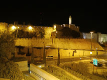 Jerusalem, Tower of David Stock Images