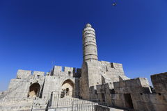 Jerusalem, Tower of David Stock Photo