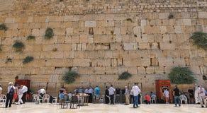 Jerusalem v?stra v?gg arkivbild