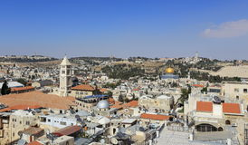 Jerusalem. View of Jerusalem, day, Israel Stock Image