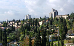 Jerusalem view from Jaffa Gate royalty free stock images