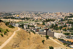 Jerusalem view. Stock Photos