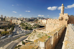 Jerusalem view. Royalty Free Stock Images