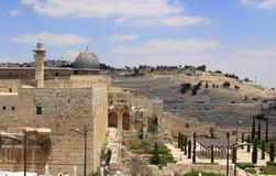 Jerusalem. View of Old Jerusalem, Israel Royalty Free Stock Image