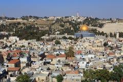 Jerusalem. View of Old Jerusalem, Israel Royalty Free Stock Photo