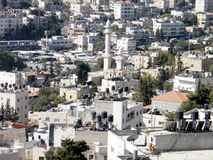 Jerusalem view of residential houses from Mount Scopus 2010 Stock Images
