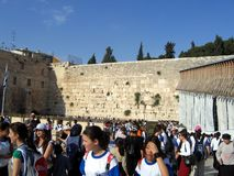 Jerusalem wailing wall Stock Photos