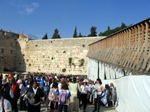 Jerusalem wailing wall royalty free stock photos
