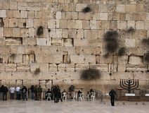 Jerusalem wailing wall Stock Photo