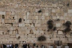 Jerusalem wailing wall Stock Photos