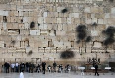 Jerusalem Wailing wall Royalty Free Stock Image
