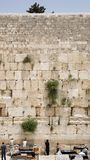 The Jerusalem wailing wall. Very large image Royalty Free Stock Images