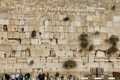 Jerusalem wailing wall Royalty Free Stock Images