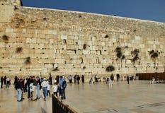 Jerusalem wailing wall Royalty Free Stock Photography