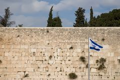 Jerusalem, Wailing Wall Stock Photos