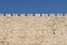 Jerusalem Wall stock photo