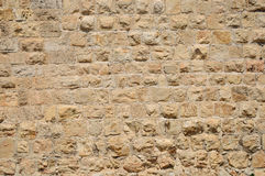 Jerusalem wall. Royalty Free Stock Image