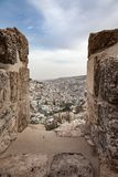 Jerusalem Wall View Point Stock Photography