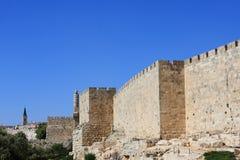 Jerusalem walls Royalty Free Stock Photos