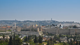 Jerusalem walls Royalty Free Stock Photography