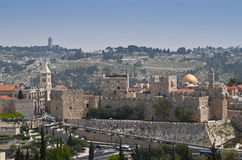 Jerusalem walls Royalty Free Stock Photos