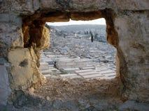 Jerusalem War Cemetery Royalty Free Stock Photo