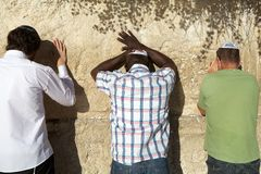 Jerusalem Western Wall Royalty Free Stock Photos