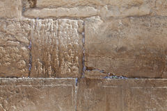 Jerusalem - Western Wall close-up Royalty Free Stock Photos