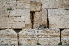 Jerusalem, Western wall Royalty Free Stock Photos