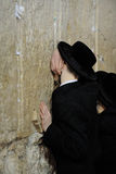 Jerusalem, the Western Wall, Jew, ultra-orthodox Stock Photo