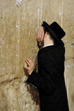 Jerusalem, the Western Wall, Jew, ultra-orthodox Stock Photography